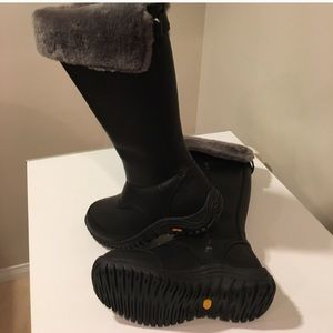 UGG Shoes - 🔥🔥New Ugg  Miko black leather boots waterproof
